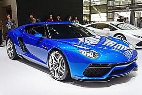 Lamborghini Asterion: Huracan V10 med två elektriska motorer.
