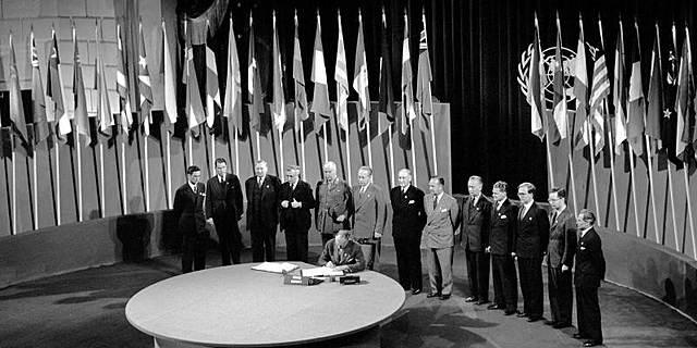 Espanya entra en les Nacions Unides