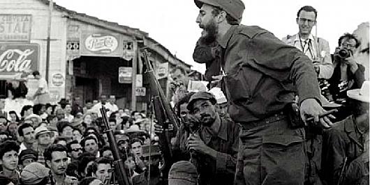 Triomf de la Revolució cubana de Fidel Castro