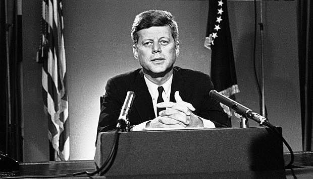 Jonh Kennedy arriba a la presidència de EE.UU