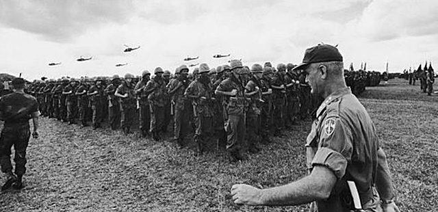 Revoltes populars produïdes per la guerra que EEUU lliurava al Vietnam