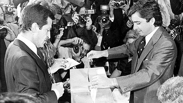 Primeres eleccions democràtiques a Espanya