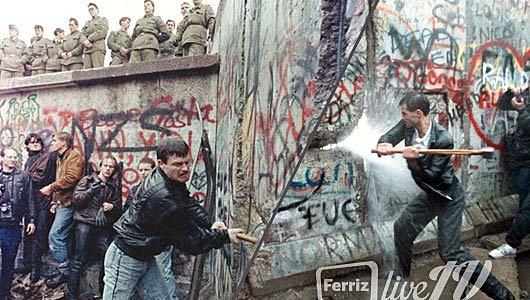 Demolició del mur de Berlín. Reunificació d'Alemanya