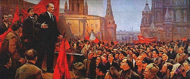 L'esclat de la Revolució Russa