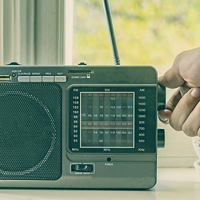 Таймлайн по истории зарубежного радиовещения timeline