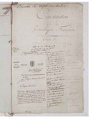 Costituzione dell'anno VIII