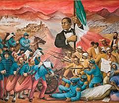 Huida de Juárez