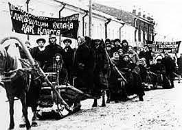 Sequestro delle proprietà dei kulaki e collettivizzazione forzata