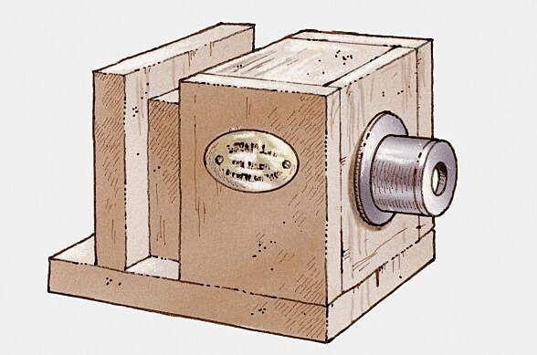 La cámara Daguerrotipo