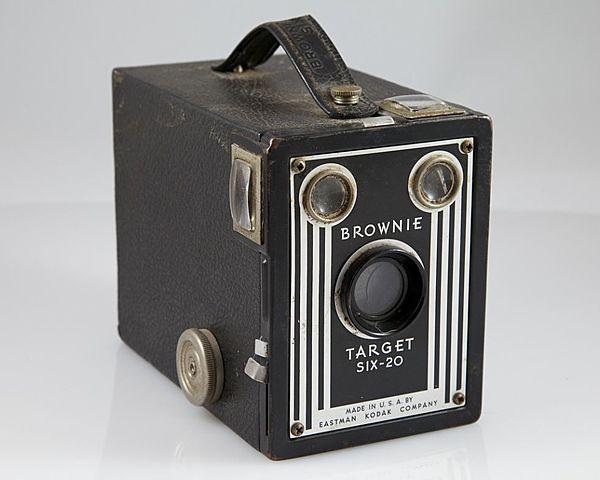 Cámara Kodak Brownie