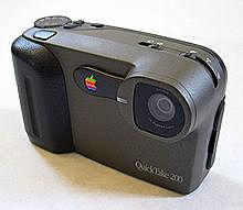 Apple Quicktake 100, usando el puerto USB