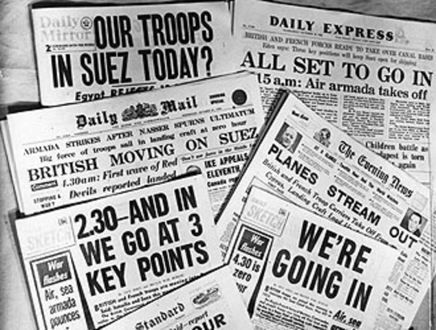 The Suez Crisis Starts