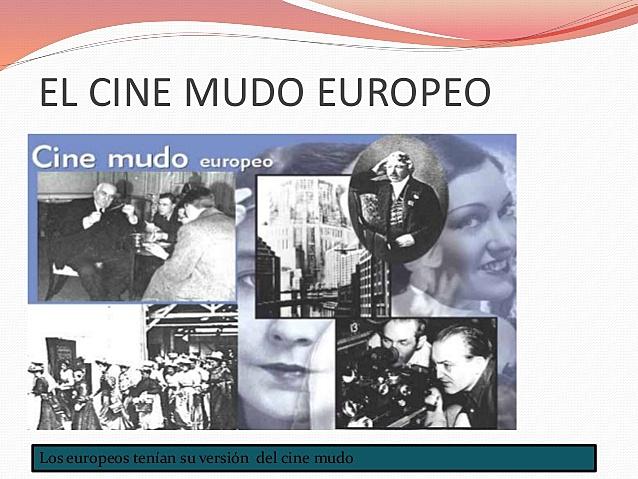 Cine Mudo Europeo en paralelo con los Movimientos Artísticos
