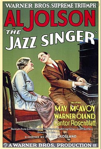 La primera película sonora: El Cantante de Jazz (Alan Crosland)