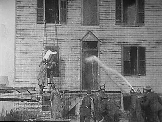 """Life of an American fireman"": Edwin Porter:"