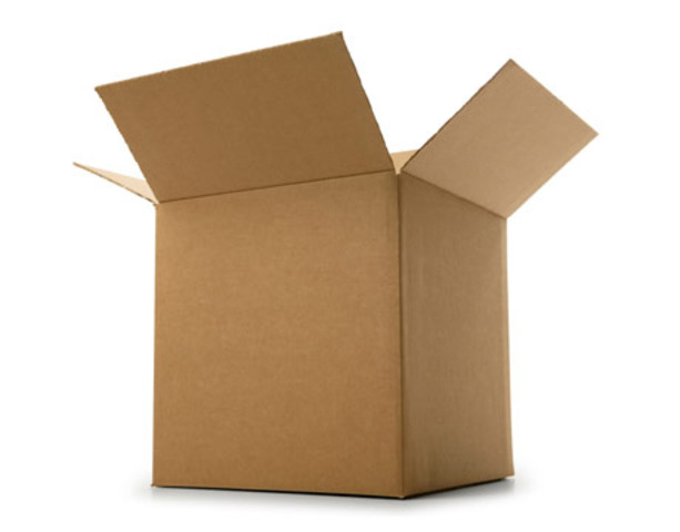I lived in a box.