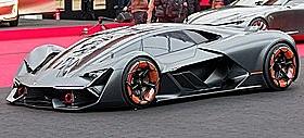 Lamborghini Terzo Millenio: 4 elektriska motorer med totalt