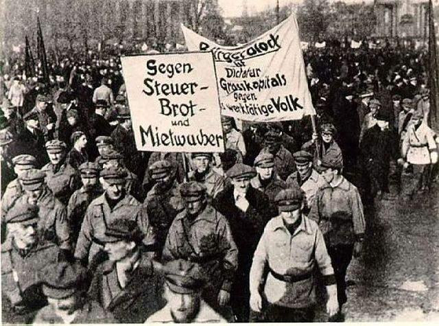 Start of the Russian Civil War