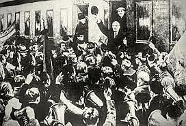 Lenin's exile in Siberia