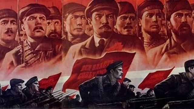 Excession of the Mensheviks and Bolsheviks