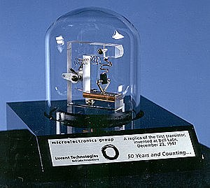 Первый транзистор