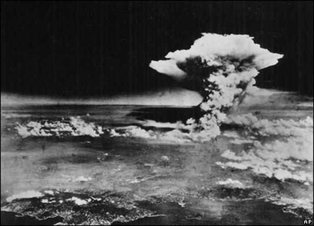 US Drops Atomic bomb on Hiroshima & Nagasaki