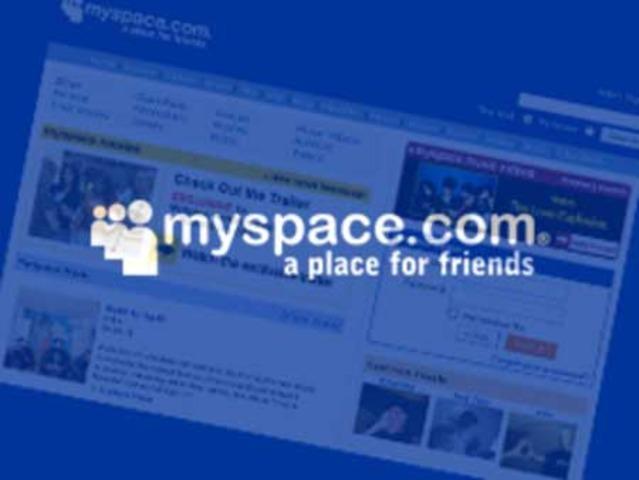 """""""My space"""" en internet."""