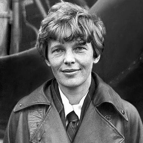 Amelia Earhart Begins Flying Across the Atlantic