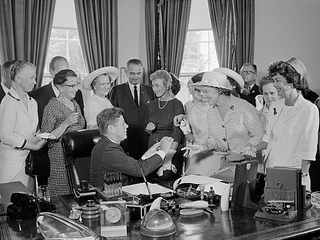 JFK Signs the Equal Pay Act