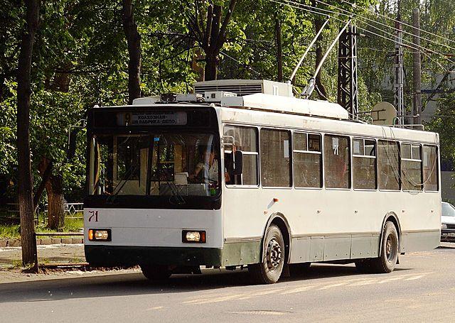Троллейбусное движение