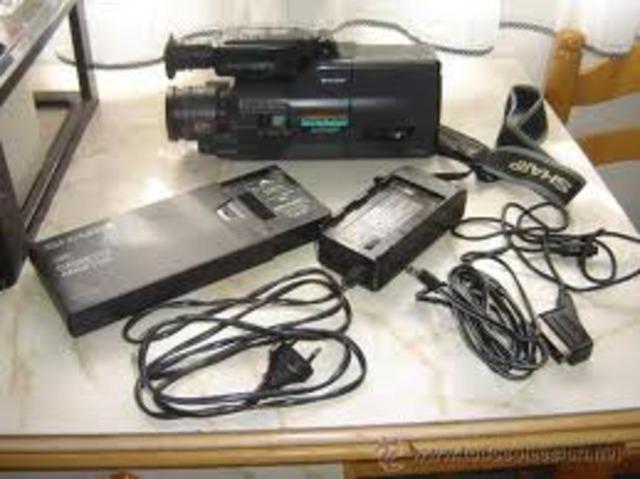 mi primera video cámara