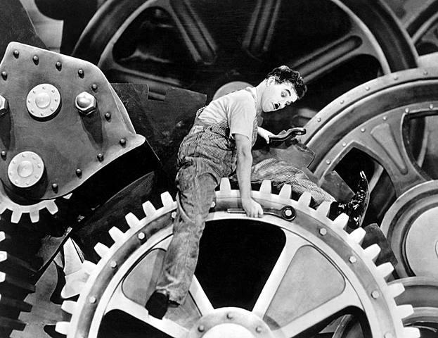 Tiempos Modernos: Charles Chaplin
