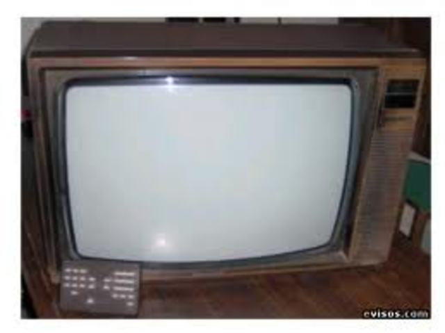 mi primer televisor en color