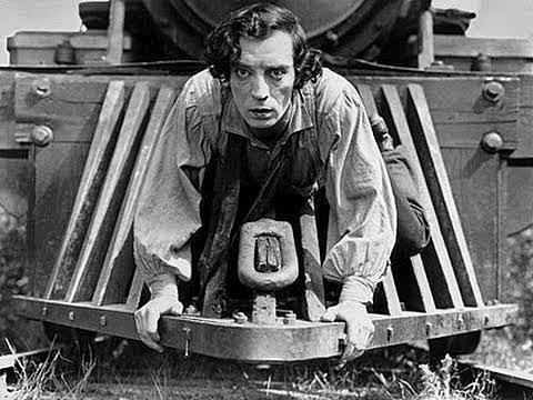 El maquinista de la General: Buster Keaton