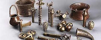 Trabajo con hierro y cobre