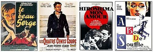 La Nouvelle Vague francesa reivindica el cine de autor (Nueva Ola)