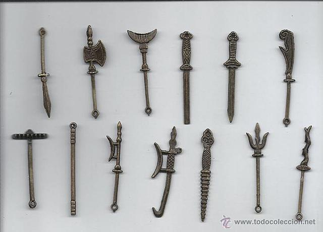 Armas de metal