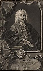 Daniel Bernouilli (29 de enero de 1700 -  17 de marzo de 1782)
