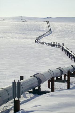 Alaskan Pipeline completed