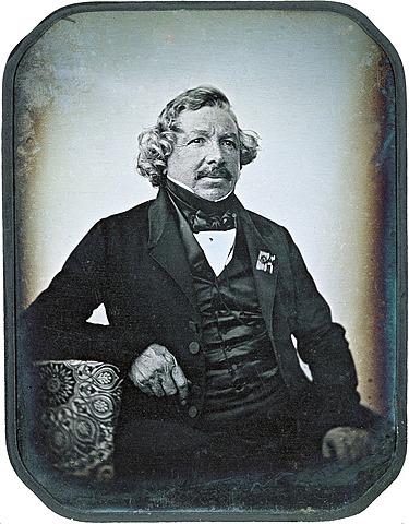 Luis Daguerre y el Daguerrotipo