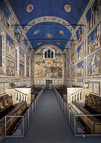 La Pintura: El Giotto y los planos