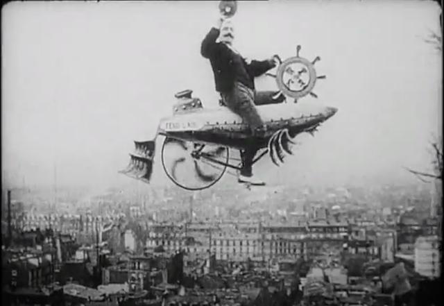"""""""A la Conquista del Aire"""":  de Ferdinand Zecca"""