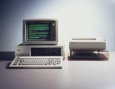 Importación de máquinas IBM