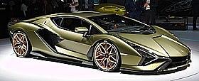 Lamborghini Sián FKP 37: Adventador SVJ V12+48 volt elektirsk motor med totalt 802HP