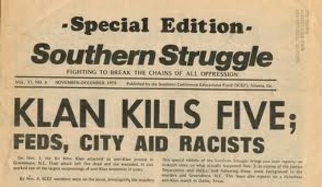 The Greensboro Massacre (November 1979)