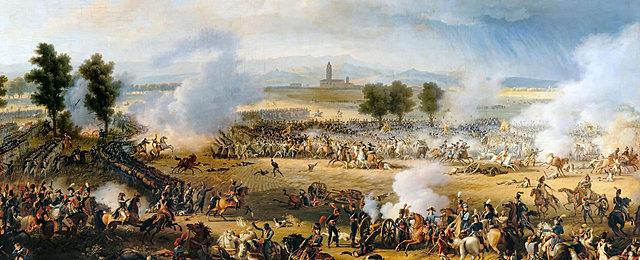 Napoleone affronta i nemici della coalizione