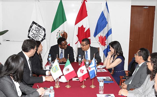 Se firmo el acuerdo de cuidad de Mexico