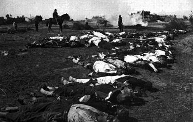 Masacre por parte de la Guardia