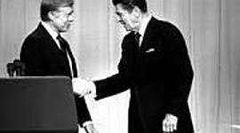 Jimmy Carter and Ronald Reagan timeline