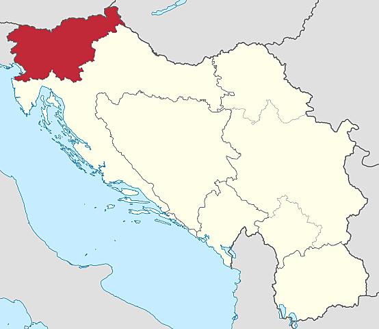 Выход СР Словении из состава СФР Югославии